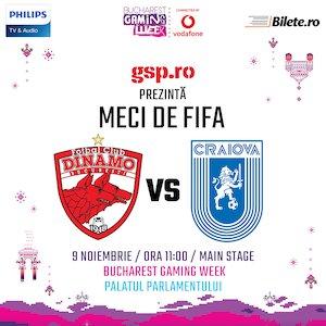 bilete Dinamo vs Craiova la Fifa