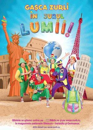 Bilete la  Gasca Zurli in jurul lumii !