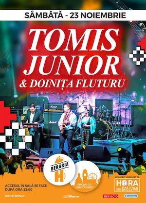Formatia TOMIS JUNIOR si Doinita Fluturu in concert