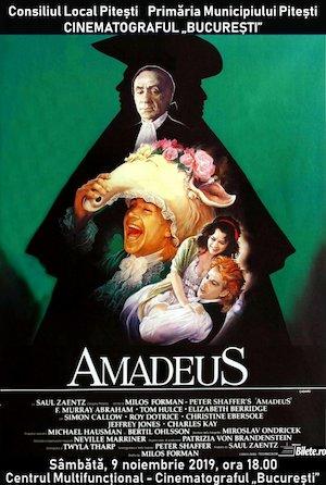 bilete Amadeus la Cinematograful Bucuresti