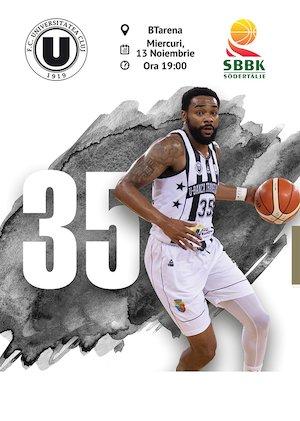 Bilete la  U-Banca Transilvania vs Sodertalje Kings - FIBA Europe Cup