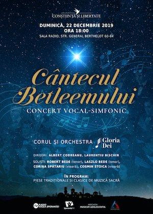 Concert vocal-simfonic extraordinar, Cantecul Betleemului - Gloria Dei