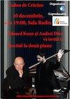 bilete Recital la doua piane EDUARD KUNZ si ANDREI DIEV