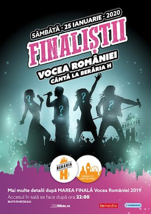 bilete Finalistii Vocea Romaniei Canta la Beraria H