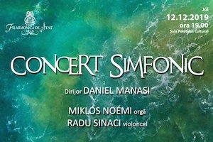 Concert simfonic - Daniel Manasi