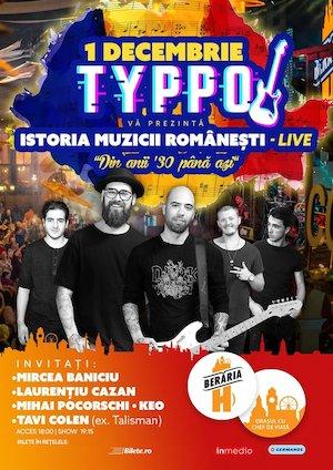 Bilete la  TYPPO Istoria Muzicii Romanesti
