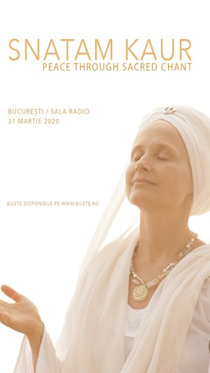 Bilete la  SNATAM KAUR - Peace through sacred chant