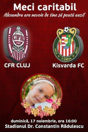 CFR 1907 Cluj v Kisvarda FC
