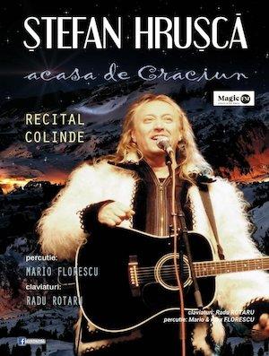 bilete Stefan Hrusca - Concert de Colinde