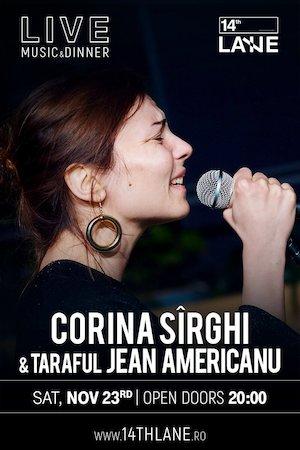 Bilete la  Concert Corina Sirghi Taraf Jean Americanu