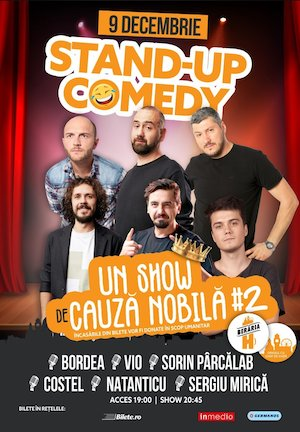 Stand-Up Comedy la Beraria H