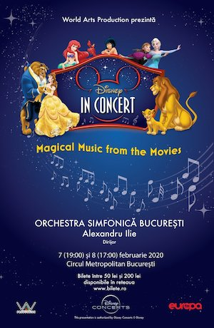 Bilete la  Disney In Concert - Magical Music From The Movies