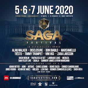 Bilete la  Saga Festival 2020