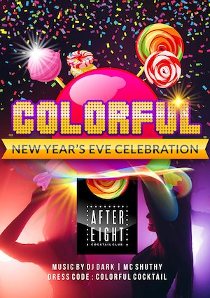 Bilete la  Colorful New Year's Eve Celebration