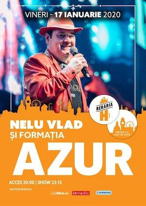 Bilete la  Concert Azur si Nelu Vlad