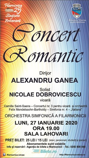 concert simfonic - Filarmonica Ramnicul Valcea