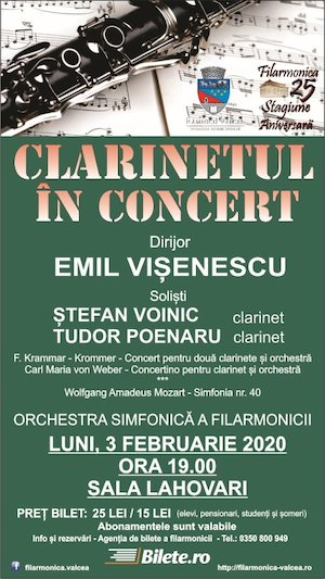 clarinetul in concert