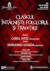 bilete Clasicul intalneste folclorul si traditiile