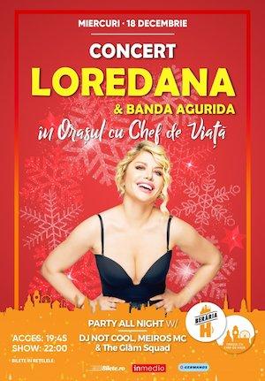 Concert Loredana & Banda Agurida