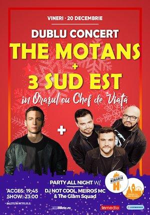The Motans + 3 Sud Est - Dublu Concert