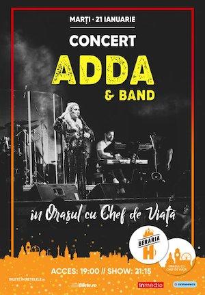 Bilete la  Concert Adda & Band