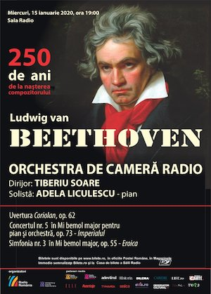 Bilete la  Tiberiu Soare - Adela Liculescu - Beethoven 250