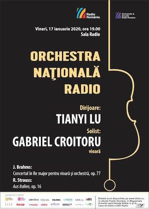 Bilete la  Gabriel Croitoru- Brahms- Orchestra Nationala Radio