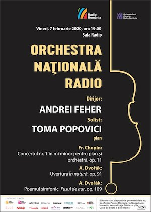 Toma Popovici- Orchestra Nationala Radio - Chopin