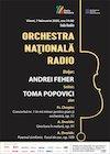 bilete Toma Popovici- Orchestra Nationala Radio - Chopin