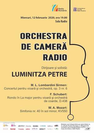 Orchestra De Camera Radio - Luminitza Petre