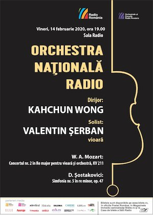Orchestra Nationala Radio - Mozart,Sostakovici