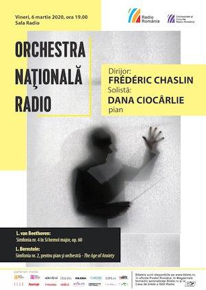 Bilete la  Dana Ciocarlie - Beethoven, Bernstein- ONR