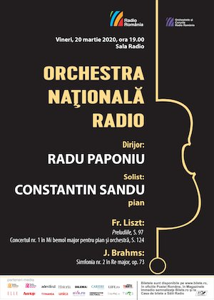 Liszt, Brahms - Orchestra Nationala Radio