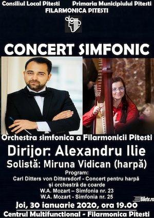 Concert simfonic Extraordinar la Filarmonica Pitesti