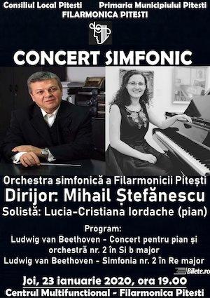 Concert simfonic - Lucia-Cristiana Iordache