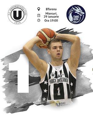 FIBA Europe Cup: U-Banca Transilvania vs. Tsmoki-Minsk
