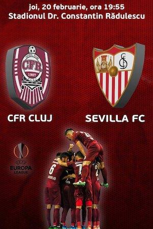 CFR Cluj (ROU) v Sevilla (ESP) - Europa League