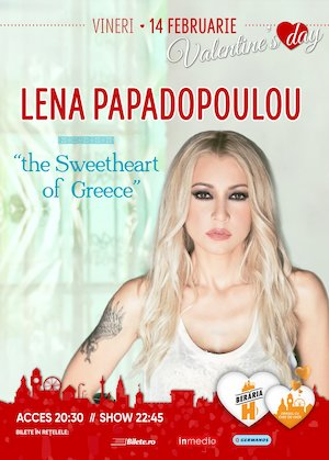 Lena Papadopoulou - The Sweetheart of Greece - Valentine's Day