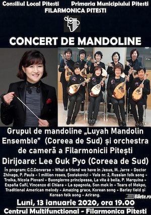 Bilete la  Concert de Mandoline la Filarmonica Pitesti