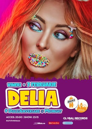 Concert Delia Dulce Aniversare