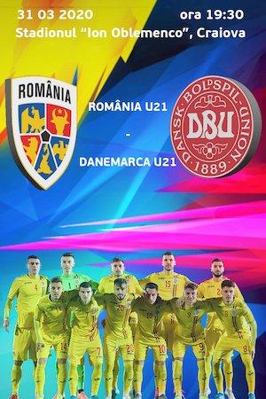 Bilete la  Romania U21 vs Danemarca U21