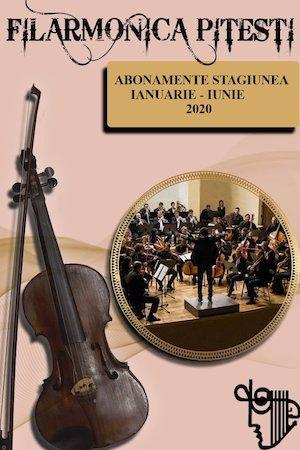 Abonamente Filarmonica Pitesti 16 Ianuarie 25 Iunie