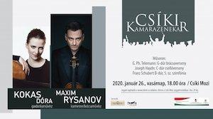 Bilete la  A Csíki Kamarazenekar hangversenye