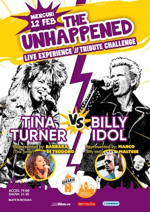 Tina Turner vs Billy Idol The Unhappened Live Experience