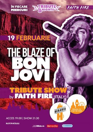 The Blaze of BON JOVI - Tribute Show by Faith Free [Italy]
