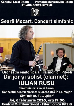 Seara Mozart la Filarmonica Pitesti