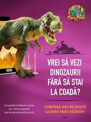 Bilete la  Dino Parc Rasnov