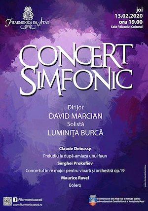 Concert simfonic - David Marcian