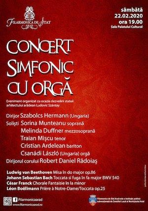 Concert simfonic cu orga - Szabolcs Hermann