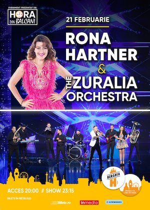 Rona Hartner si The Zuralia Orchestra